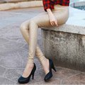 2017 Spring Autumn Women PU Leather Leggings Slim Rose Pattern Faux Leather Pencil Pants Plus Size Matte Leather Boots Trousers