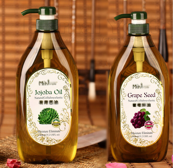 Jojoba Oil Almond Sweet Wheat Germ Grape Seed Rose Hips Ginger Olive Massage Compound Oils For Beauty Salon Equipment 750ml