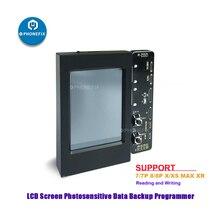 หน้าจอ LCD แสงข้อมูลสำรองโปรแกรมเมอร์สำหรับ iPhone 8 8P X XS MAX XR หน้าจอ LCD Ambient Light SENSOR อ่านเขียนเครื่องมือ