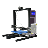 ET i3 3D Printer Machine Double/Single Nozzle Full Metal Frame Auto Level Four point Assisted Platform Power off Resume