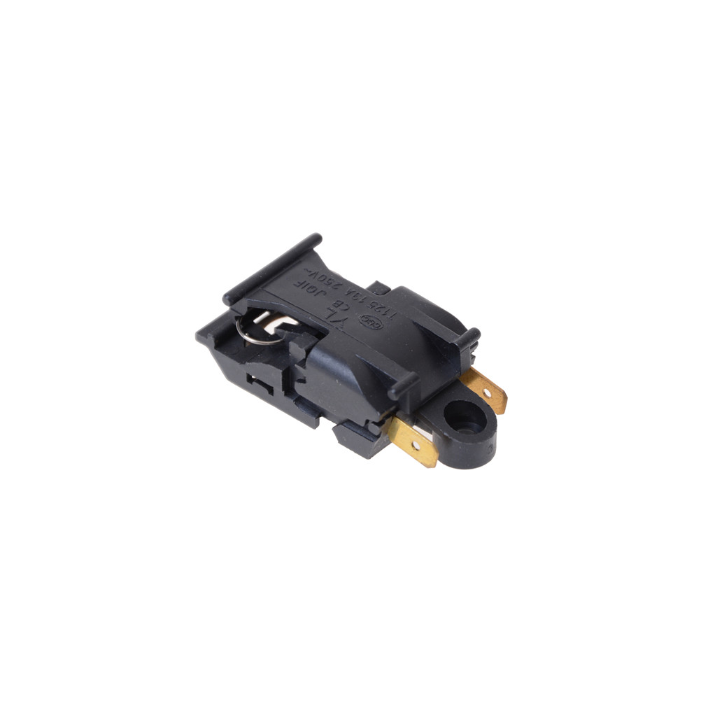 1PC Black 13A Electric Kettle Thermostat Switch 2 Pin Terminal Kitchen Appliance Parts