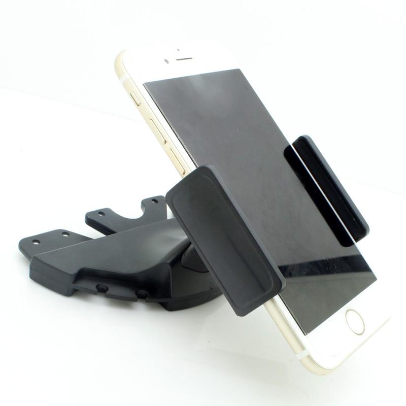 Universal Car CD Slot Phone Mount Holder Adjustable Mobile