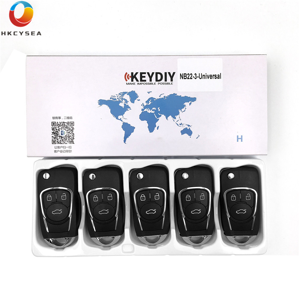 HKCYSEA 5PCS LOT NB22 3 NB Series Universal Multi functional 3 Button Remote Control for KD900