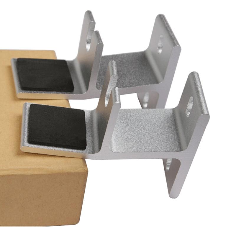 BL-YX03 Aluminum Alloy One Pair Audio Speaker Mount Bracket TV3 Audio Frame Host Rack Support