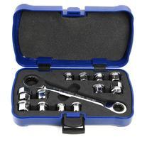 13pcs E6 E24 Socket Wrench Set CR V Drive Ratchet Spanner Car Repair Tool