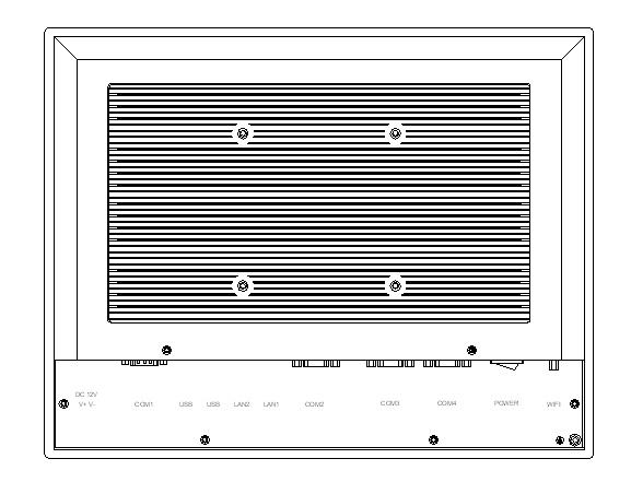 15 colių pramoninis skydelio kompiuteris, talpus jutiklinis ekranas, - Pramoniniai kompiuteriai ir priedai - Nuotrauka 4