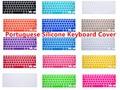 "Portuguese Language EU/UK Silicone Keyboard Skin Cover Protector For All MacBook Pro Retina Air 13.3 15.4 17 inch 13"" 15"" 17"""