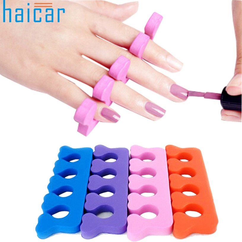 Health Beauty Nail Toe Art: Best Deal Haicar Soft Finger Toe Separator Tool Nail Art