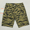2018 Summer BOB DONG Jungle TIiger Stripe Shorts Vietnam War Military Mens Straight Short Trousers Tiger