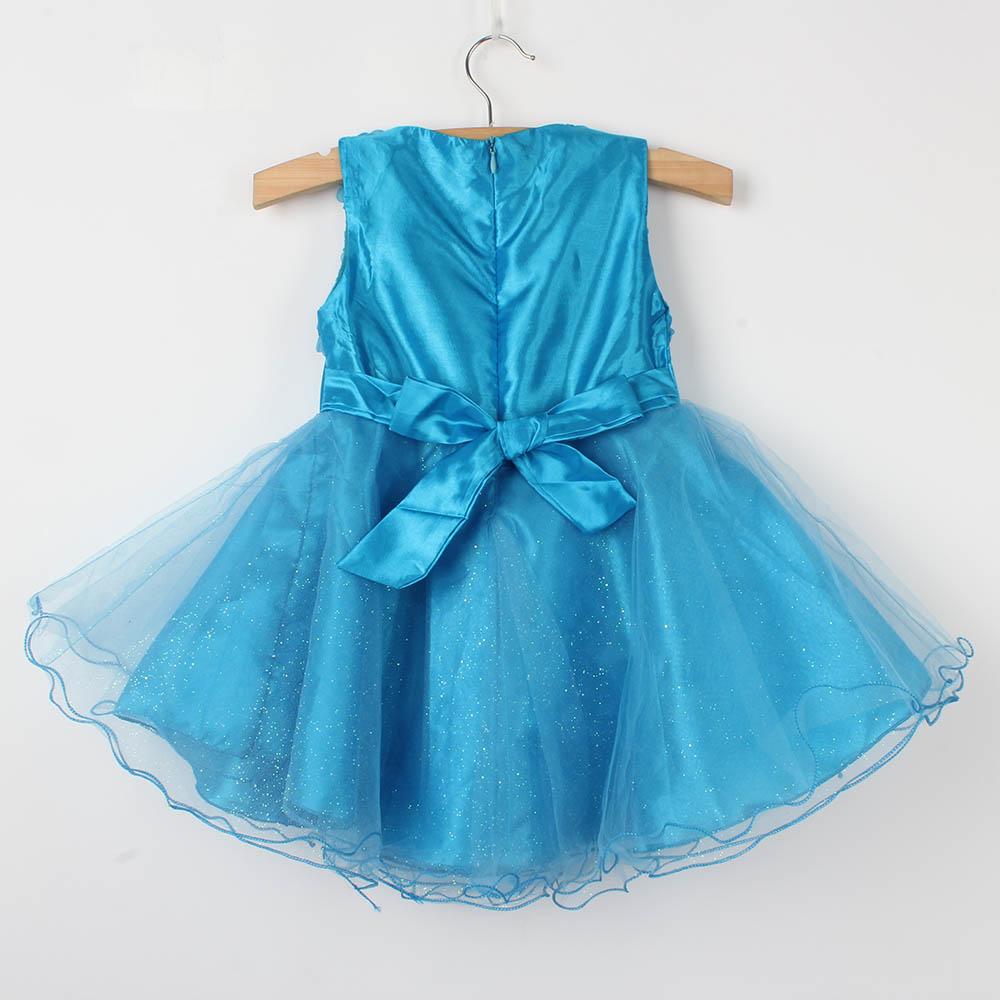 Kids Baby Girl Dress Petals Tulle Toddler Girl Dress Infant Princess ...