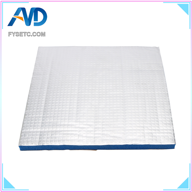 1PC Blue 200/220 10mm Thick 3D Printer Heating Bed Sticker Heat Insulation Cotton For Waohao I3 Anet A8 A2 Creality Tronxy X2