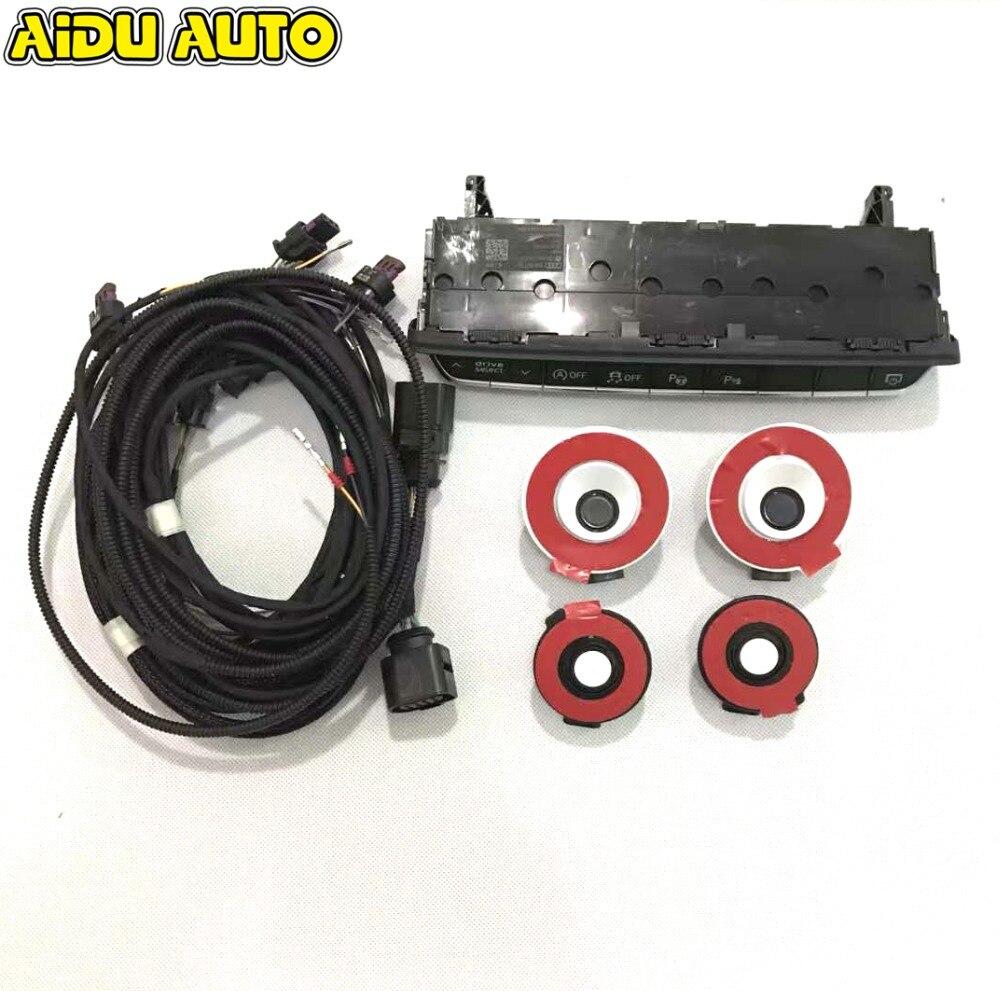 Для AUDI A4 A5 B9 8 Вт интеллектуальные PLA автопарк OPS 8 К обновление 12 К Assist парк помочь