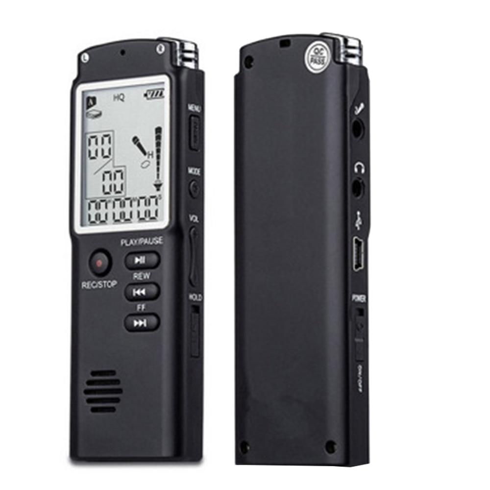 8 ГБ/16 ГБ/32 ГБ диктофон USB Профессиональный 96 часов диктофон цифровой Аудио Диктофон с WAV, mp3 плеер