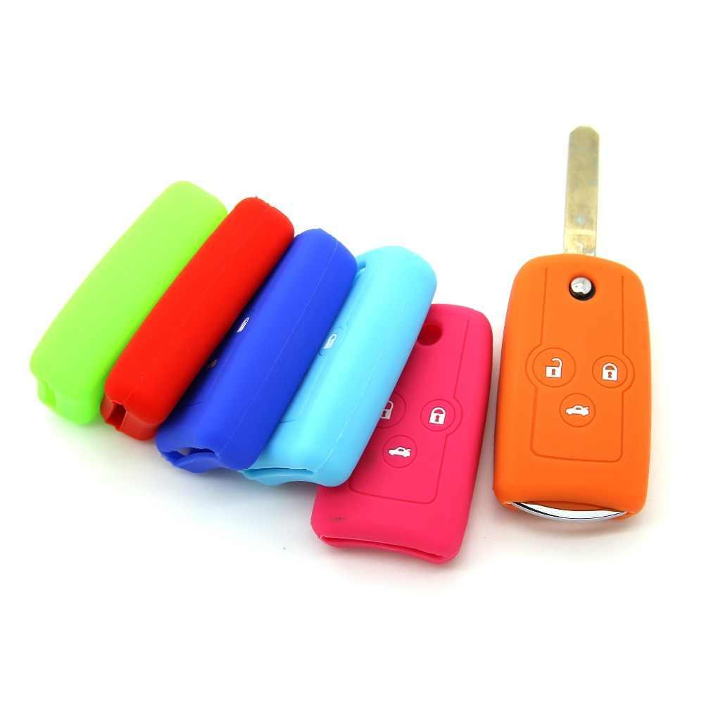 Высоко Качество Силикона Крышка Ключа Автомобиля, Дистанционного Ключа Автомобиля Силиконовый Чехол Для Honda C 2.3 6 Accord CIVIC CRV Odyssey 2012 Ключи от машины