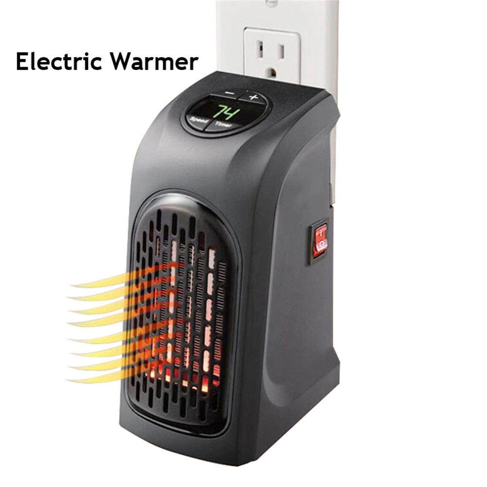 110V/220V Electric Warmer Handy Air Heater Wall-Outlet Warm Air Blower Electric Heater Fan Stove Radiator Warmer For Office Home mini electric heaters red handy air heater warm air blower office home desktop warm fan heater for warm winter heating device
