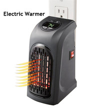 110V/220V Electric Warmer Handy Air Heater Wall-Outlet Warm Air Blower Electric Heater Fan Stove Radiator Warmer For Office Home