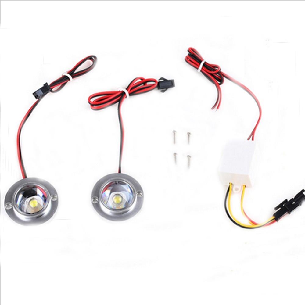 Полезные 2 LED Super Bright Автомобиля Строб - Автомобильные фары - Фотография 4