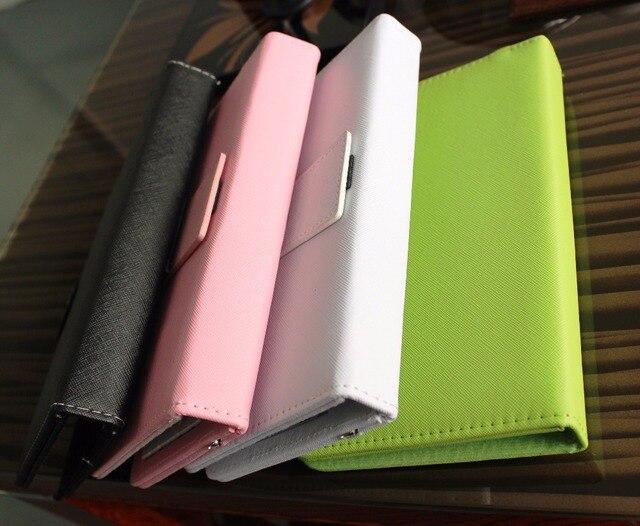 Flip case smartfony akcesoria przewodowa klawiatura mysz case zestawy telefon komórkowy z androidem klawiatura stojak na huawei samsung xiaomi HTC