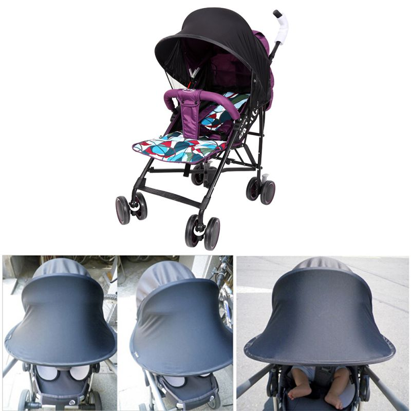 Newborn Baby Outdoor Stroller Accessories Useful Sun Shade Maker for Kid Baby Strollers Pram Buggy Pushchair and Car Seats