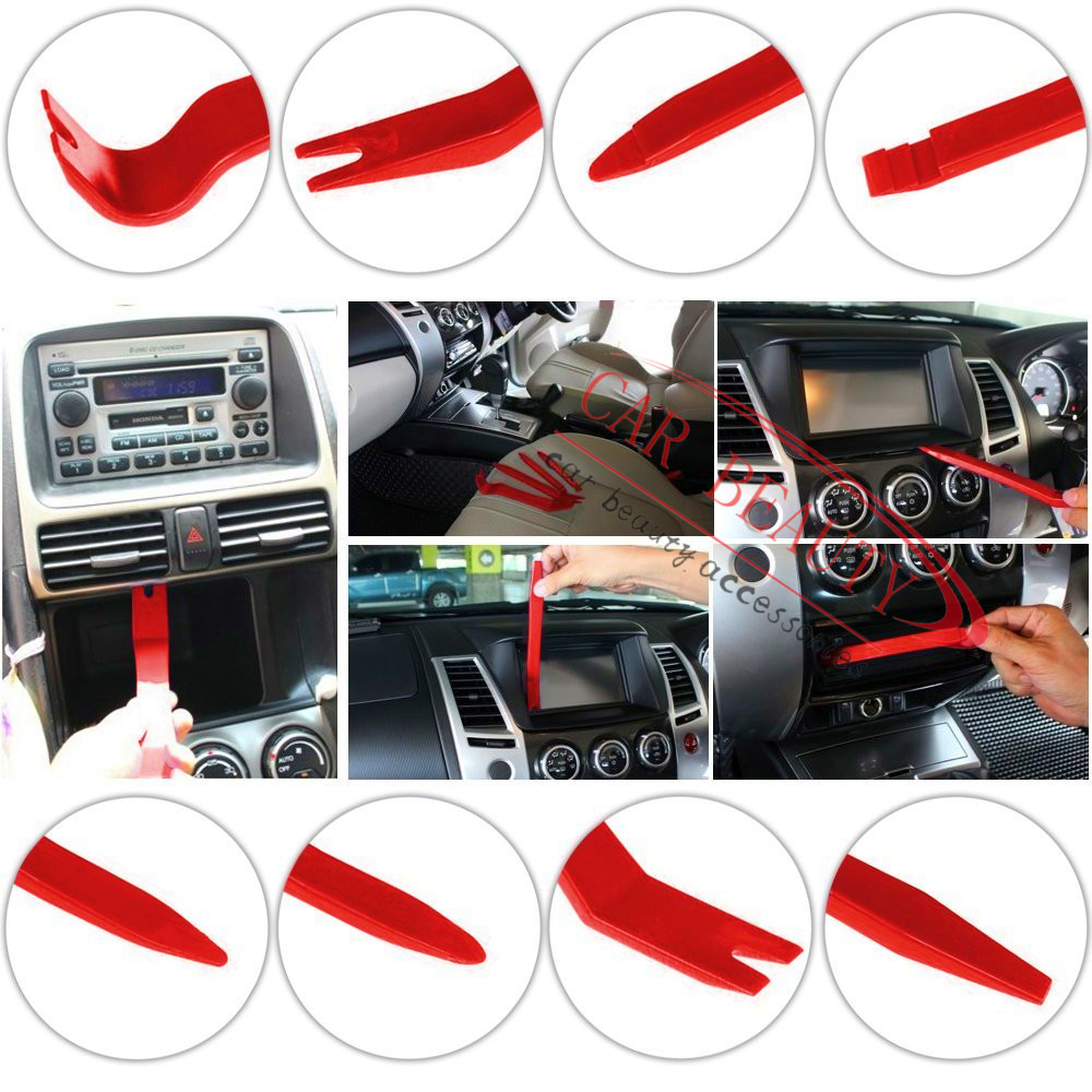 CAR Auto Upholstery Tools Strong Nylon Door Molding Dash Panel Trim Tool Kit Clip Pliers Fastener Remover Wholesale