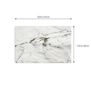 2 шт. ПВХ коврик для стола водонепроницаемый маслостойкий нескользящий высокотемпературный Теплоизоляционный мраморный Полосатый Дизайн Коврики для стола на ужин