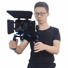 Mcoplus DSLR Rig Set Movie Kit Film Making System Shoulder Mount Follow Focus and Matte Box for DSLR Cameras & Video Camcorders