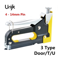 Urijk 1pc Black Yellow Horse Nail Gun High Quality Multifunction Use For Portal Type T Type