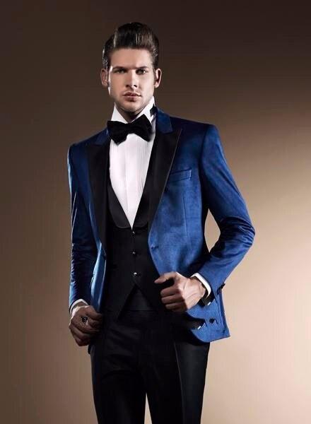 Maximale Made Revers Meilleur veste 2017 Pièce Formelle De Pantalon Costumes 3 Hommes Gilet Costume Smokings Marine multi Custom Bleu Beige Mode Marié Mariage gqx6wqA75