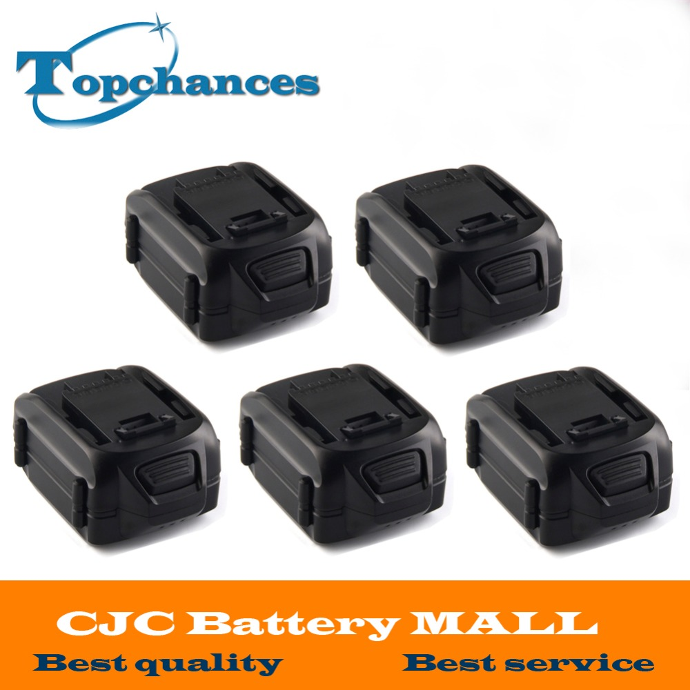 5 xHigh Qualité WA3537 MAX Lithium 2.0 Ah Batterie Remplacement pour WORX Modèles WG175, WG575, WG575.1 et WG924, 32-volt puissance outil
