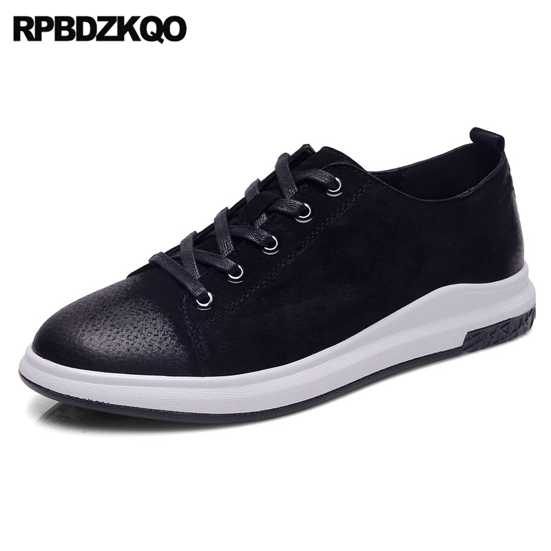 Sneakers 2017 Fashion Trainers Comfort Casual Skate Shoes Black Lace Up Popular Flats Spring Autumn Hot Sale Stylish vik max artificial wool lining figure skate shoes hot ice skate shoes classical black figure skate shoes