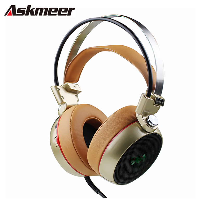 Gaming Headset Gamer casque 3.5mm Computer Stereo Game Headphones headfone with Micropone Led Light fone de ouvido each g1100 shake e sports gaming mic led light headset headphone casque with 7 1 heavy bass surround sound for pc gamer