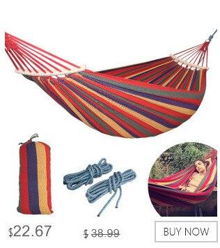 Hammocks Realistic Portable Hammock Outdoor Double Parachute Cloth 2 Person Hamaca Hamak Rede Garden Hanging Chair Sleeping Travel Swing Hamac