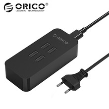 ORICO DCV-4U 20W 4 Port USB Charger with Super Charging Technology For Your Phone, Tablet and More