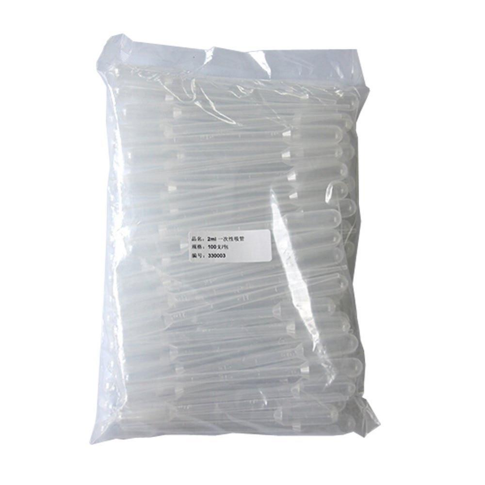 50ks! 10ml plastový kapátkový pipetovací paprsek Transparentní - Školní a vzdělávací materiály - Fotografie 1