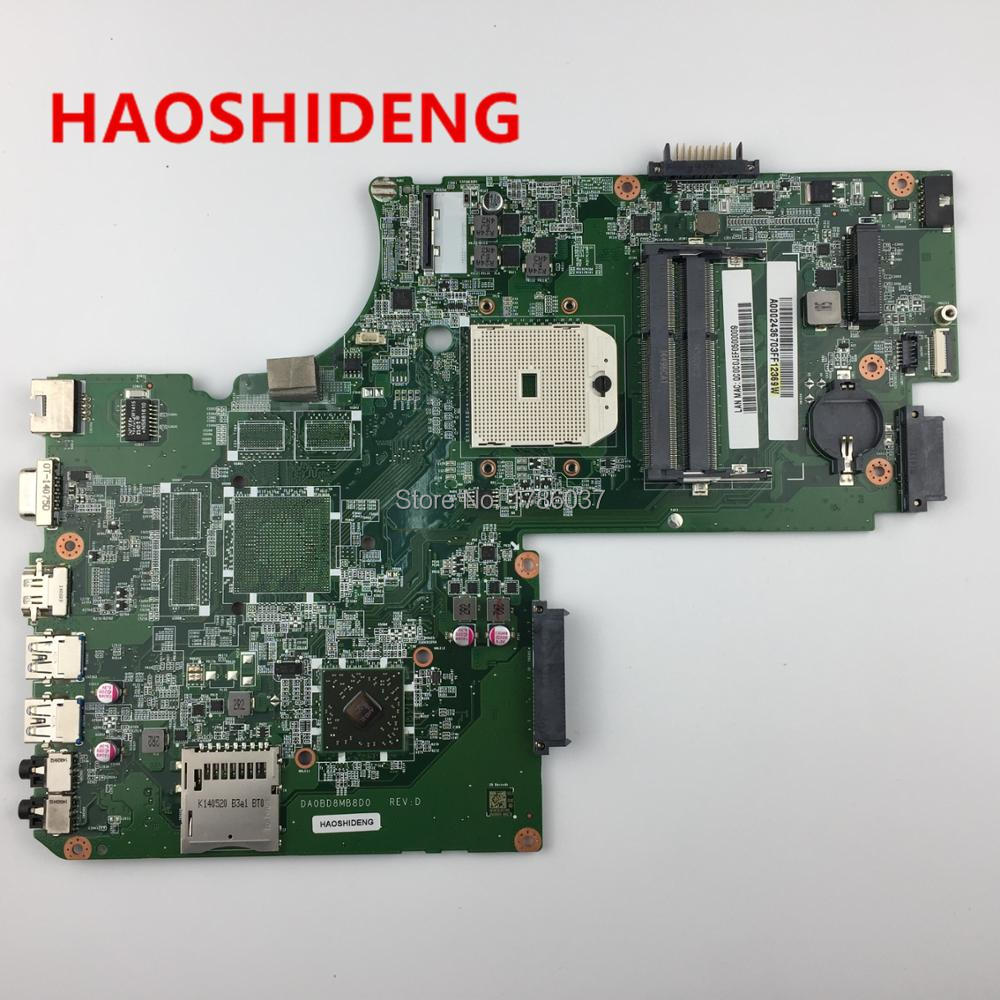 A000243670 DA0BD8MB8D0 For Toshiba Satellite S75D L75D L75D-A series laptop motherboard .All functions fully Tested ! k000092540 la 5321p for toshiba satellite l500 l505 series laptop motherboard all functions fully tested