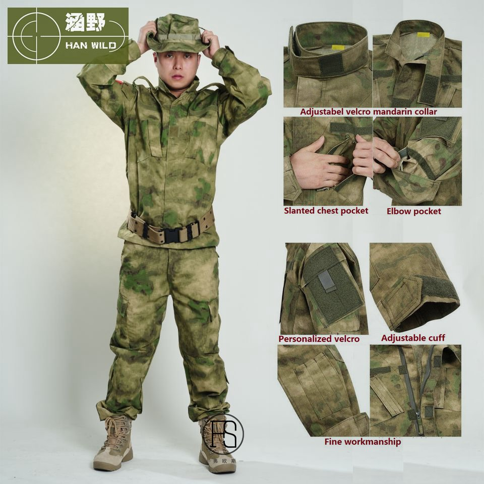 купить 2017 US Army BDU Military Uniform Camouflage Tactical Shirts & Tactical Pants CS Field Army Camo Hunting Suit USMC CP ACU ATACS по цене 2947.69 рублей
