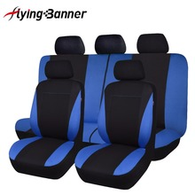 Classic Universal Car Seat Covers Fits Most SUV Car Seat Protector Car Styling 3 Color Seat Cover For peugeot 307 golf 4 universal car seat cover fiber linen front cushion 3d car styling seat covers automobiles for toyota for hyundai 1pcs 3 colored