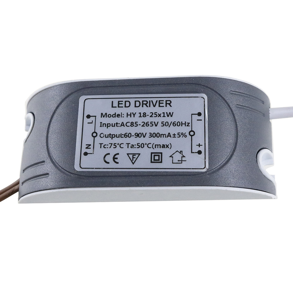 (18-25)x1W LED External Driver 300mA DC 60V ~ 90V Led Driver 18W 20W 21W 22W 23W 24W 25W Power Supply AC 110V 220V for LED light ac100 240v dc18 35v 300ma 6 9 x1w led driver power supply converter adapter