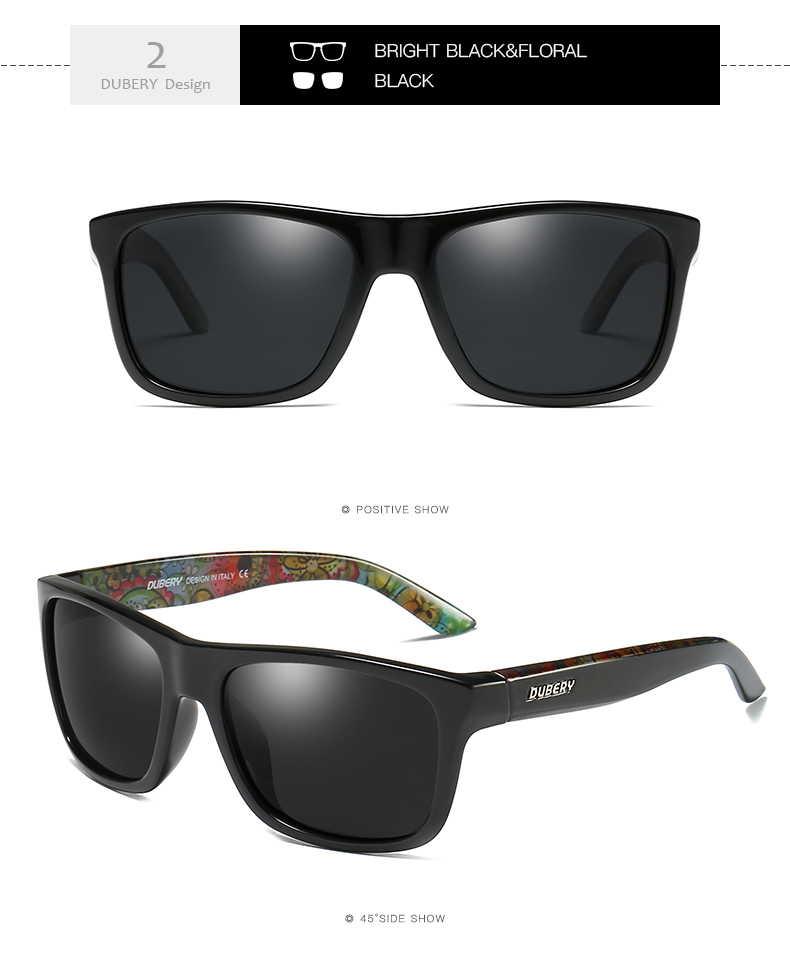 3d7a8fb132 DUBERY Polarized Sunglasses For Men s
