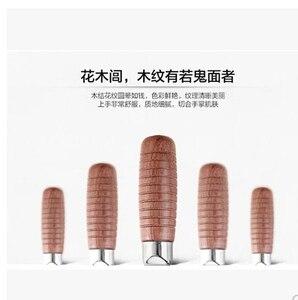 Image 4 - Бесплатная доставка, профессиональный шеф повар Shibazi, нож для нарезки пищи, усовершенствованный композитный легированный стальной нож тутового дерева, кухонный режущий инструмент