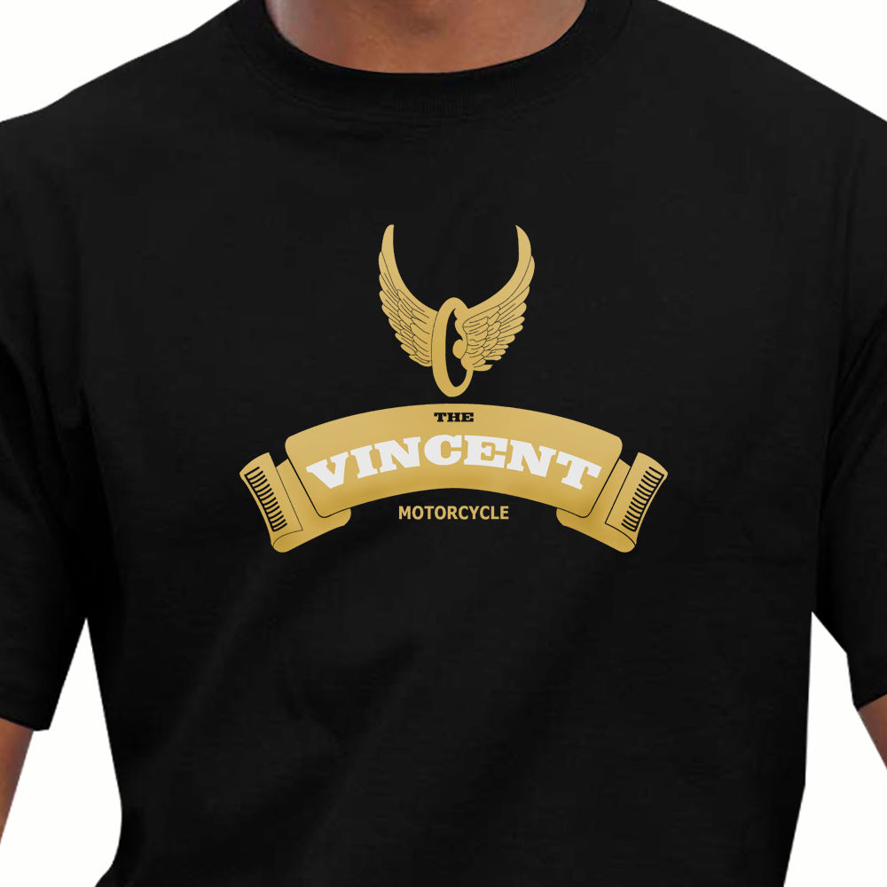 2018 Hot Sale 100% Cotton Race & Retro - Classic Vincent Motorcycles T-Shirt Summer Style Tee Shirt