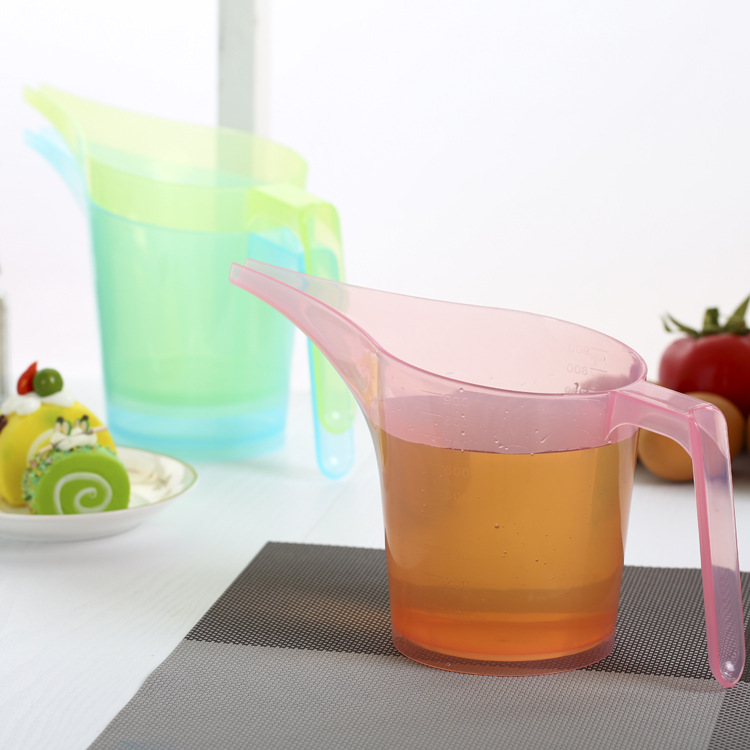1PC 2016 New Clear Plastic <font><b>Digital</b></font> Long Mouth <font><b>Measuring</b></font> <font><b>Cup</b></font> Scale Measure Glass Kitchen Kitchenware Tools For Cooking J0730