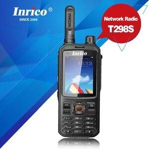 Image 1 - Bộ Đàm 50 Km Mạng 2 Chiều Đài Phát Thanh T298S WCDMA GPS SIM Điện Thoại Di Động Radio UHF Analog 400 470Mhz Cầm Tay