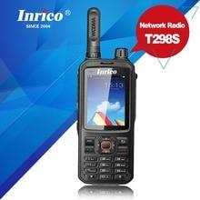 Rádio portátil analógico 400 470mhz do telefone móvel do cartão sim do rádio em dois sentidos t298s wcdma gps da rede do walkie talkie 50 km rádio em dois sentidos