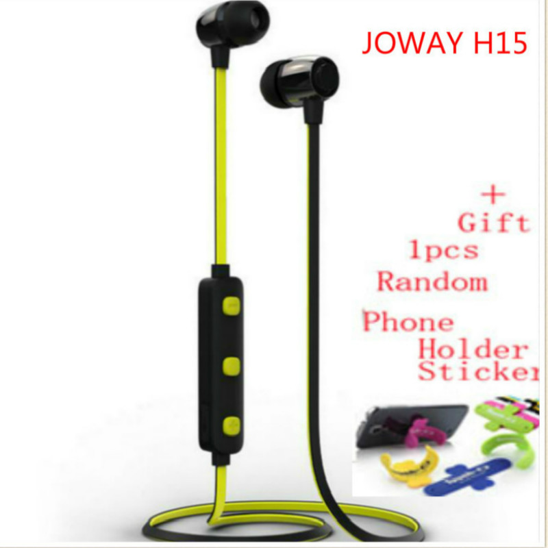 цена на JOWAY H15 Wireless Stereo Bluetooth Headset Earphone Sports Audifonos Earphone Headphones With MIC for phones fone de ouvido