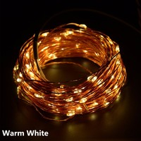 איכות גבוהה 20 m 200 LED חוט נחושת LED רצועת אורות חיצוני גן קישוט חג מולד מנורות Led לחתונה נופש מסיבת