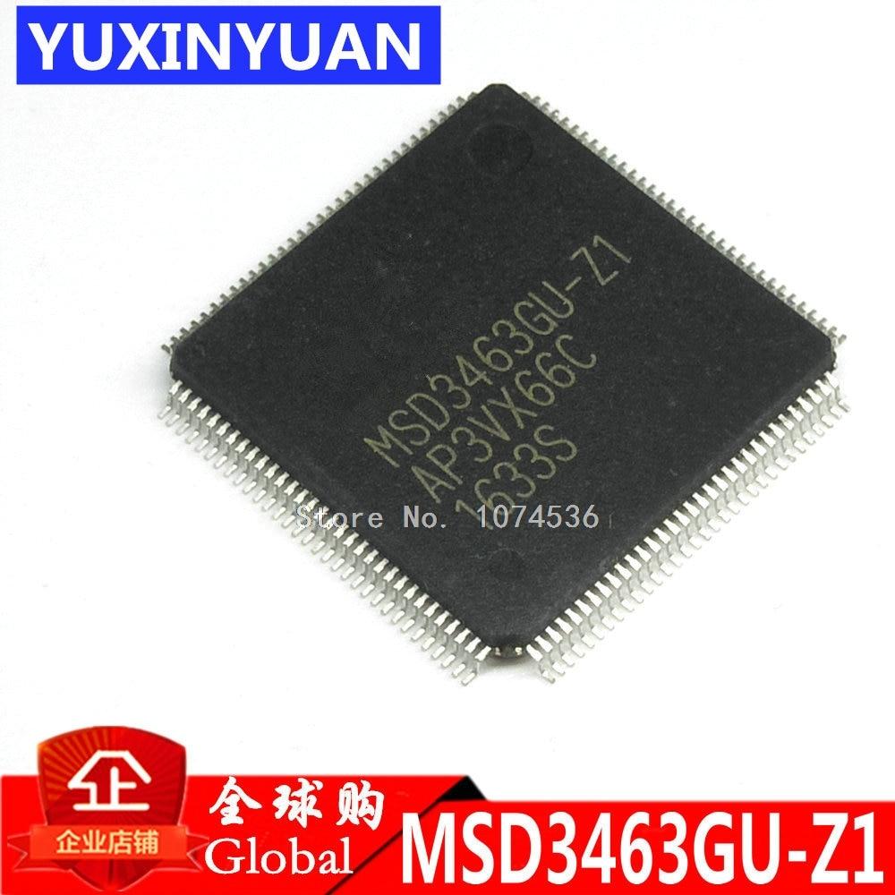 MSD3463GU-Z1 MSD3463GU MSD3463GU QFP New original authentic integrated circuit IC LCD chip electronic 1PCS