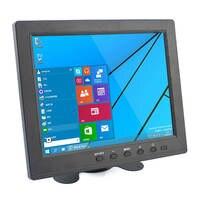 Elecrow HD 8 Inch TFT LCD Monitor Màn Hình Hiển Thị 1024x768 VGA AV BNC Video Âm Thanh HDMI Đầu Vào cho PC CCTV Máy Ảnh Car DSLR Sao Lưu