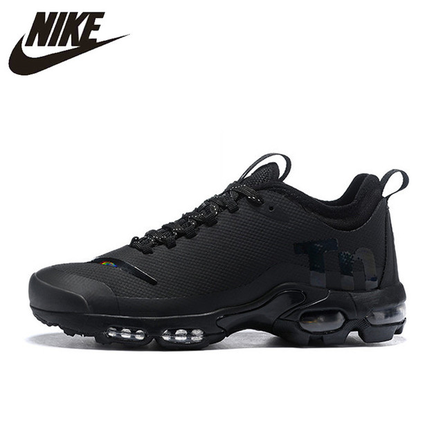 cebd67c805 US $75.52 60% OFF|Nike Air Max Plus Tn Ultra Se Men's Running Shoes,  Original Wear resistant Shock absorbing Breathable Non slip AQ0242 004-in  Running ...
