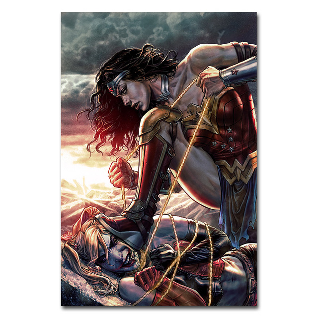 Wonder Woman Hot Movie Art Silk Or Canvas Poster